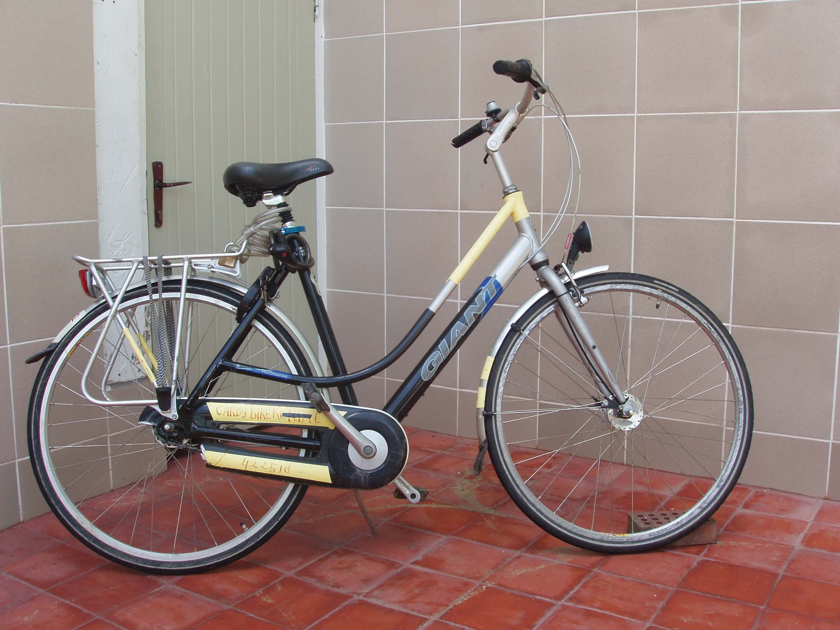 Cardy fiets in Suriname