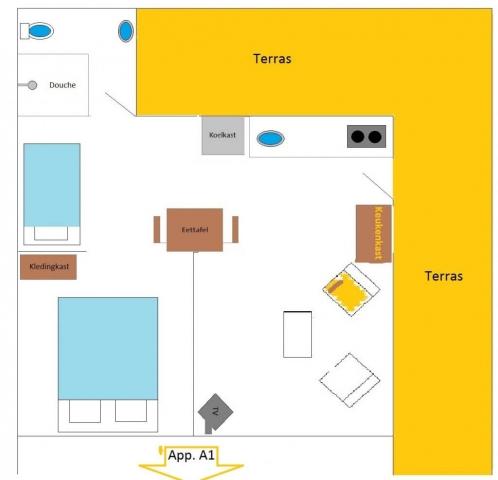 appartement-voor-2-3-gasten