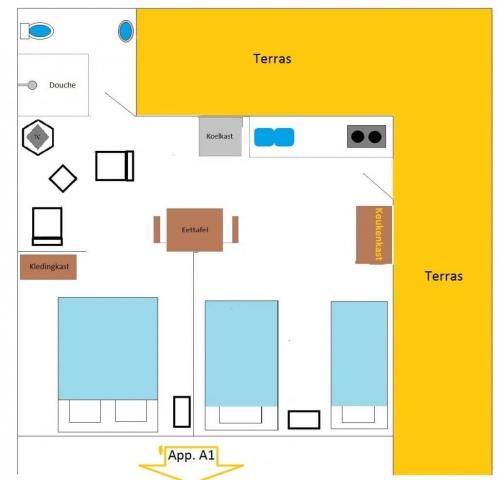 appartement-voor-3-5-gasten